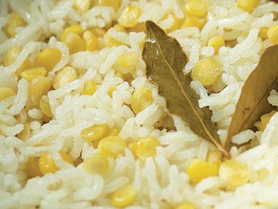 butter lentil rice