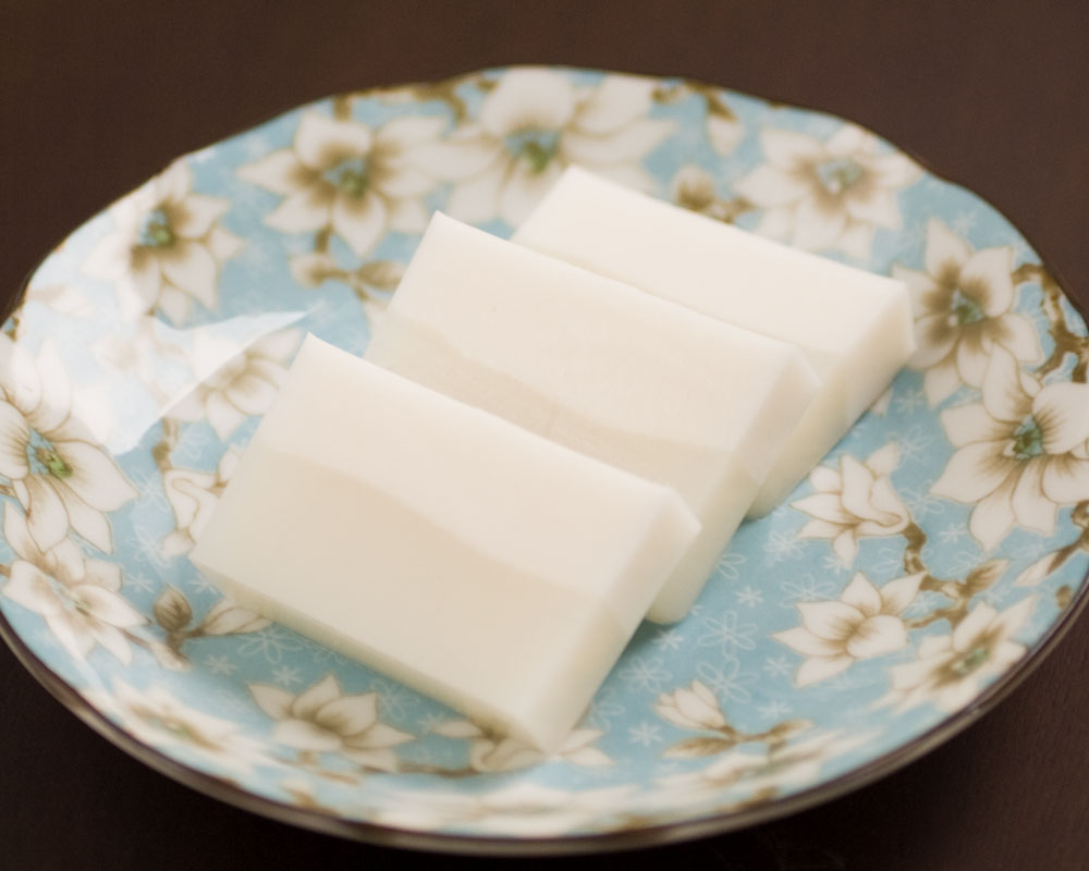 burmese coconut jelly