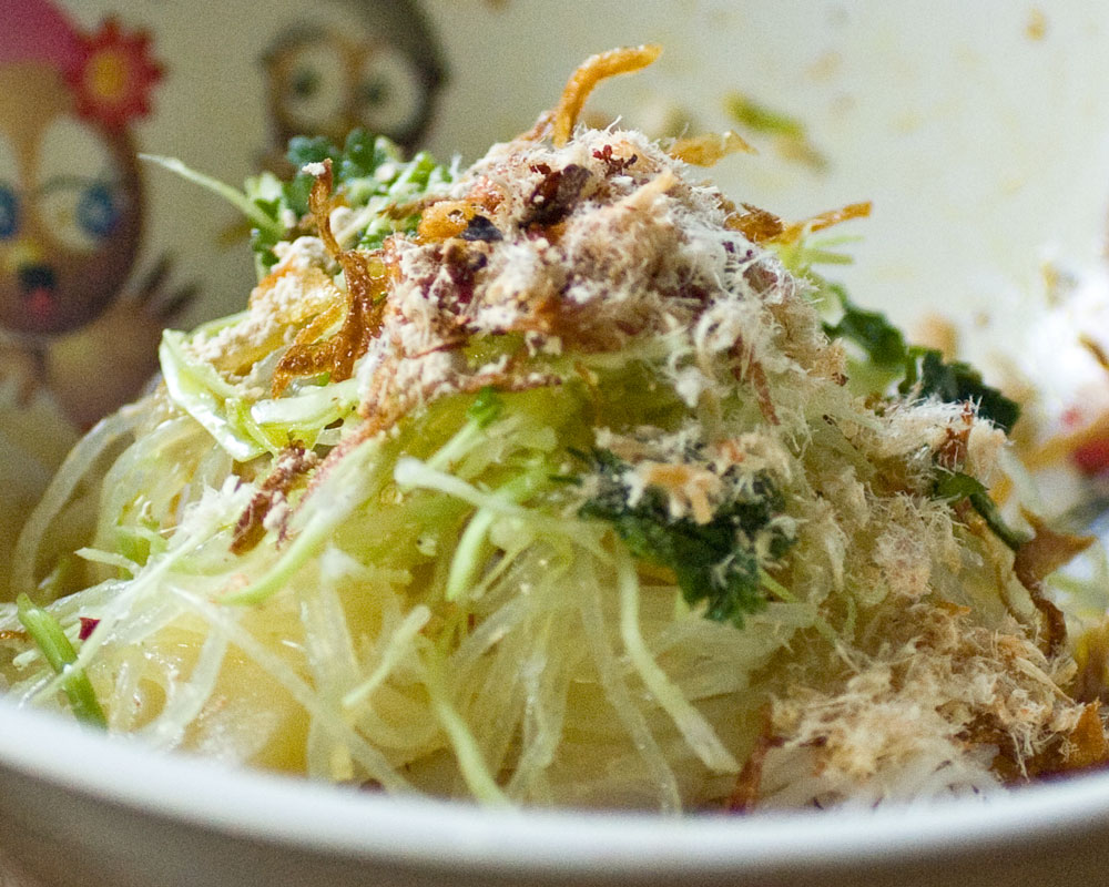 burmese noodle salad