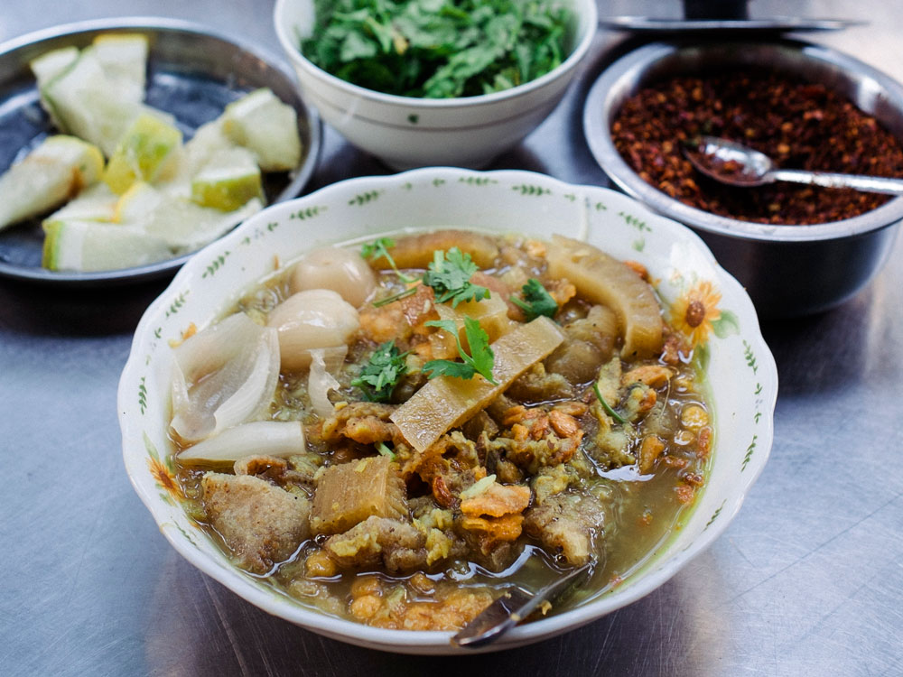 mohinga recipe Burmese fish noodle soup