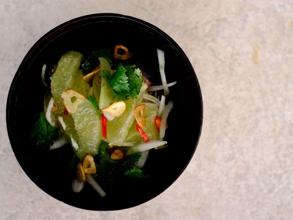 Burmese lime relish