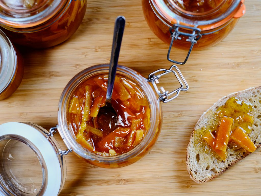 orange lime marmalade