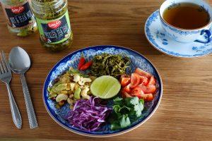Bayin pickled tea leaf